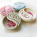 """4"""" Yin Yang Paisley Dish pattern"""