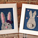 """""""Some Bunny Loves You"""" Knitted Wall Art pattern"""