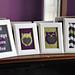 """""""Owl Friends"""" Knitted Wall Art pattern"""