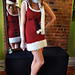 Ms. Claus Costume - Santa Dress, Hat, and Scarf pattern