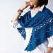 Florence triangular shawl pattern