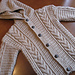 Design F - Cabled Duffle Coat pattern
