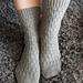 Twisted Sticks Socks pattern