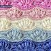 0033 Ripple Puff Stitch pattern
