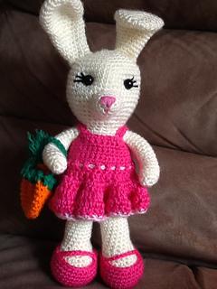 Ravelry: Dress Me Bunny pattern by Sharon Ojala | 320x240