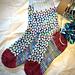 Birthday Party Socks pattern