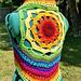 Sunflower Mandala Vest pattern