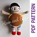 Gene Belcher Bob's Burgers Fan Art Doll pattern