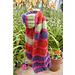 Echarpe multicolore Laine & Tricot pattern