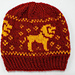 Gryffindor Knit Hat pattern