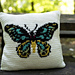 The Birdwing Pillow pattern