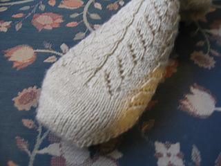 Toe-up Totem Socks