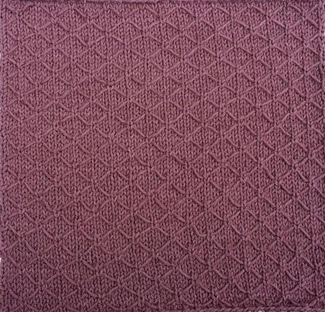 Faux Quilt Stitch Block by Judy M. Ellis, Handiwords Ltd LLC
