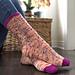 dia de muertos socks pattern