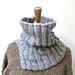 Cozy Ribbed Neckwarmer pattern