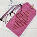 beaded eyeglass case pattern