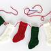 Mini Christmas Stockings pattern