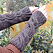 Claire's Cable Wrist Warmers pattern