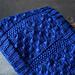 Raindrop Cowl pattern