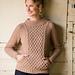 Ropemaker Pullover pattern