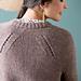 Shifted Eyelet Yoke Sweater pattern