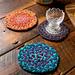 Sock Yarn Braided Trivets pattern