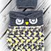 Owl Cocoon & Sack Hat pattern