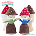 Garden Gnome Toadstool Doll pattern