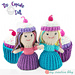 Cupcake Topsy-Turvy Doll pattern