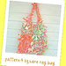 rag bags 4 square patchwork tote~crochet pattern