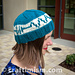 Resistor Hat - March for Science pattern