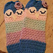 Sleepy Owl Child Legwarmers pattern