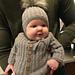 Lea Leo baby cardigan pattern