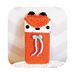 kawaii fox phone sleeve pattern