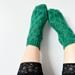 Velveteen Slipper Socks pattern