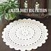 "Alicia Doily Rug ~ 35"" pattern"