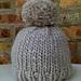 Simple Bulky Hat pattern