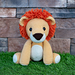 Laurence the Lion pattern