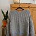 Åsne's Chunky Sweater pattern