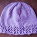Lace-Edged Women's Hat pattern