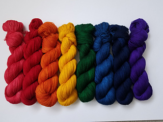 Semi solid colorways.