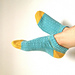 Bow Knot Ankle Socks pattern