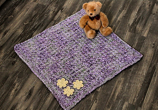 Ravelry Baby Monet Blanket Pattern By Erica Fedor