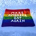 Make America Gay Again Flag pattern