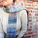 Waves Scarf pattern