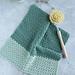 Earth Washcloth pattern