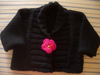 Madi black sweater 1-07