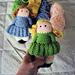 Crocheted Sock Dolls pattern