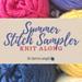 Summer Stitch Sampler Afghan pattern