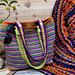 Tropical gardens bag pattern